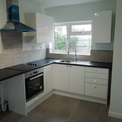 Small Bespoke Kitchen Designed By George Staffordshire
